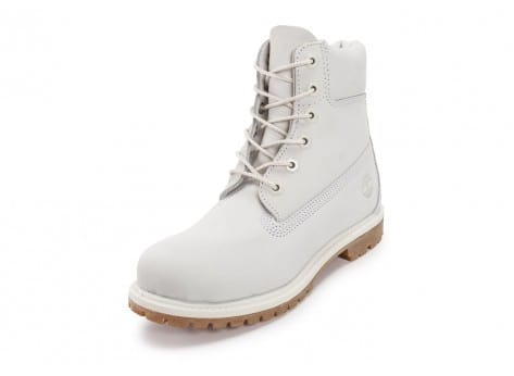 Chaussures Timberland 6-Inch Premium Boots Blanche vue avant
