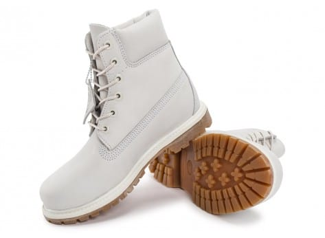 Chaussures Timberland 6-Inch Premium Boots Blanche vue intérieure