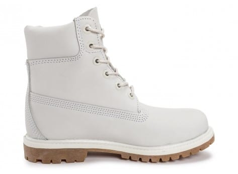 Chaussures Timberland 6-Inch Premium Boots Blanche vue dessous