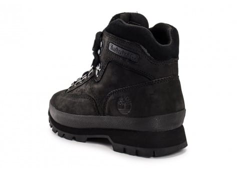 Chaussures Timberland Euro Hiker Mid noire vue arrière