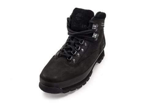 Chaussures Timberland Euro Hiker Mid noire vue avant