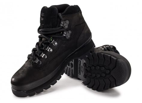 Chaussures Timberland Euro Hiker Mid noire vue intérieure