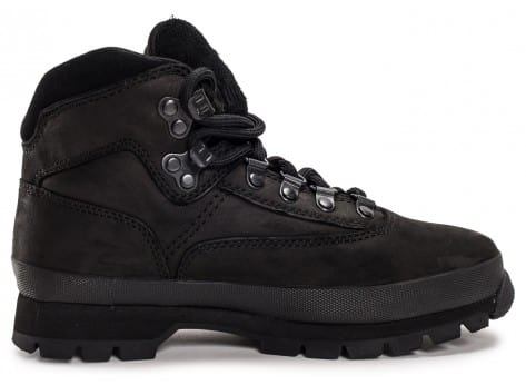 Chaussures Timberland Euro Hiker Mid noire vue dessous