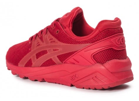Chaussures Asics Gel Kayano Trainer Evo W rouge vue arrière