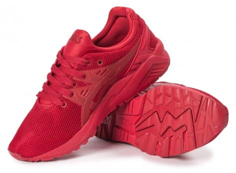 Chaussures Asics Gel Kayano Trainer Evo W rouge vue intérieure