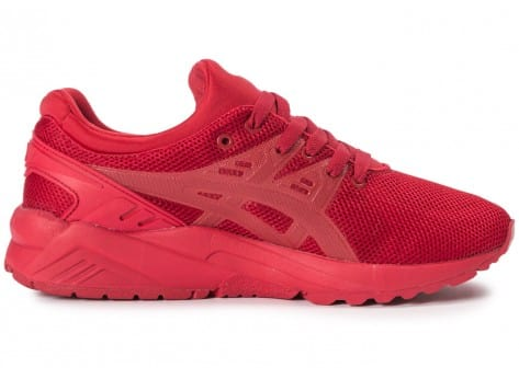 Chaussures Asics Gel Kayano Trainer Evo W rouge vue dessous