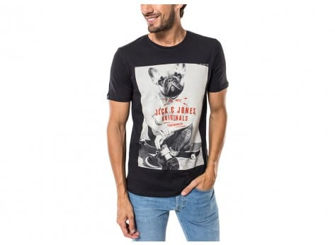 Tee-shirt Jack & Jones T-Shirt Penn noir