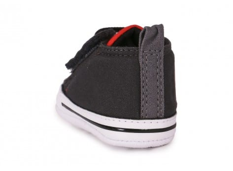 Chaussures Converse CHUCK TAYLOR FIRST STAR EASY GRISE vue arrière