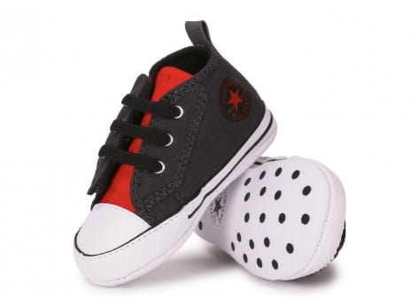 Chaussures Converse CHUCK TAYLOR FIRST STAR EASY GRISE vue intérieure