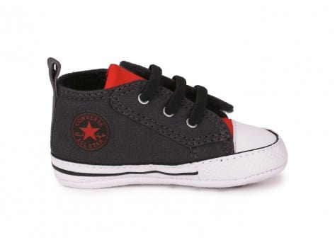 Chaussures Converse CHUCK TAYLOR FIRST STAR EASY GRISE vue dessous