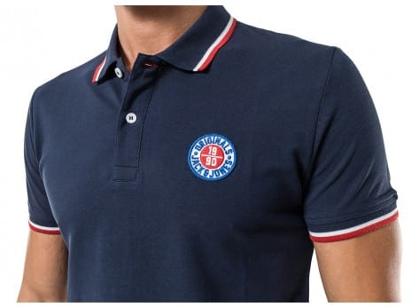 Tee-shirt Jack & Jones Polo Georges Bleu marine