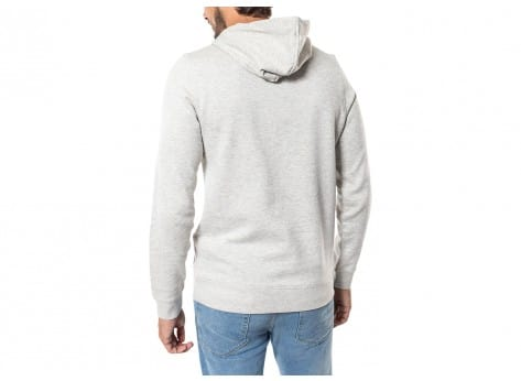 Sweat Jack & Jones Sweat Break Hood gris et rouge