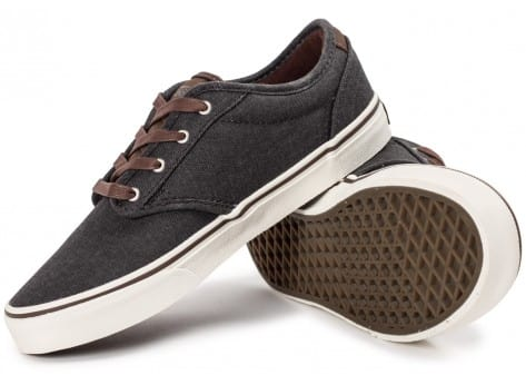 Chaussures Vans Atwood Deluxe Junior grise vue intérieure