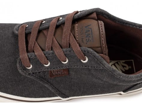 Chaussures Vans Atwood Deluxe Junior grise vue dessus