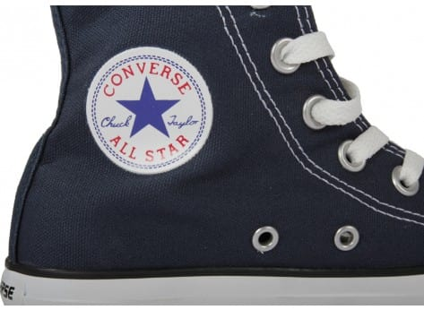 Chaussures Converse Chuck Taylor All Star marine vue dessus