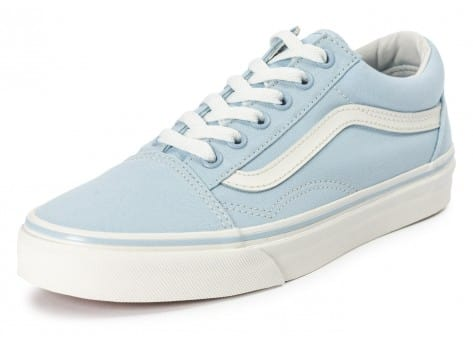 Chaussures Vans Old Skool Skyway bleue vue avant
