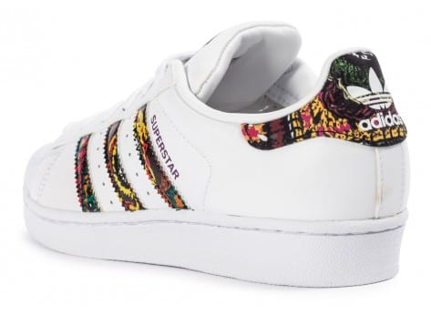 Chaussures adidas Superstar Farm Company blanche vue arrière