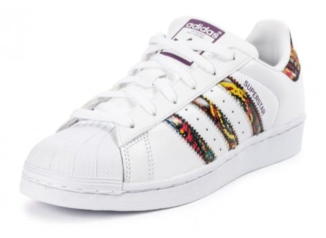 Chaussures adidas Superstar Farm Company blanche vue avant
