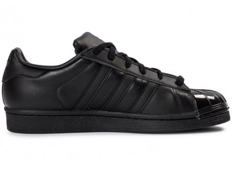 Chaussures adidas Superstar Glossy Toe noire vue dessous