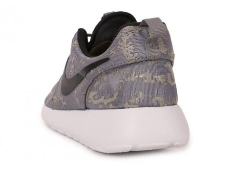 Chaussures Nike Roshe One Print grise vue arrière