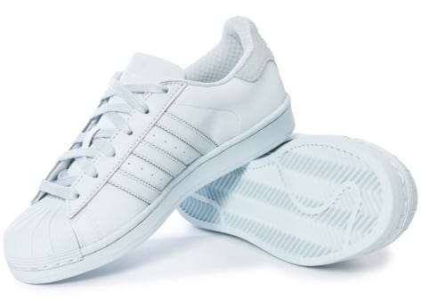 Chaussures adidas Superstar Adicolor Halo Blue W vue intérieure
