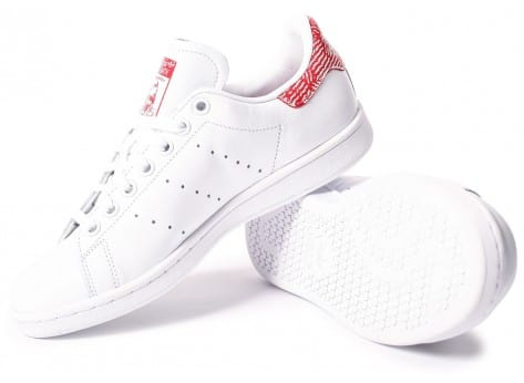 Chaussures adidas Stan Smith Collegiate rouge vue intérieure