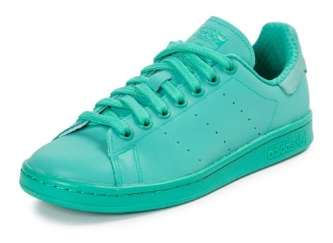 Chaussures adidas Stan Smith Adicolor Shock Mint vue dessus