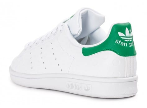 Chaussures adidas Stan Smith Rubber Polka Dot blanche vue arrière