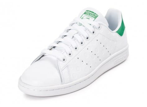 Chaussures adidas Stan Smith Rubber Polka Dot blanche vue avant