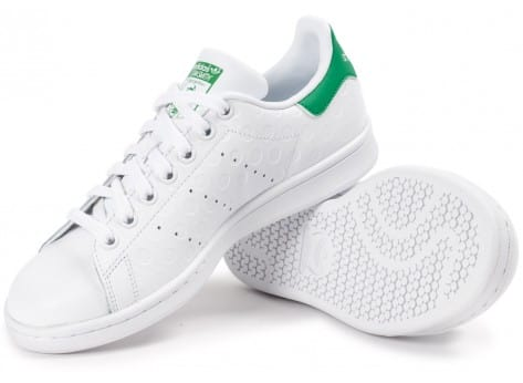 Chaussures adidas Stan Smith Rubber Polka Dot blanche vue intérieure