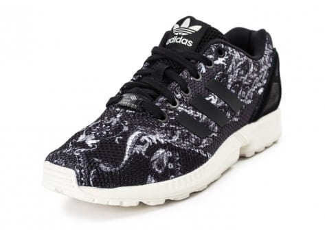 Chaussures adidas Zx Flux Print The Farm Company vue avant
