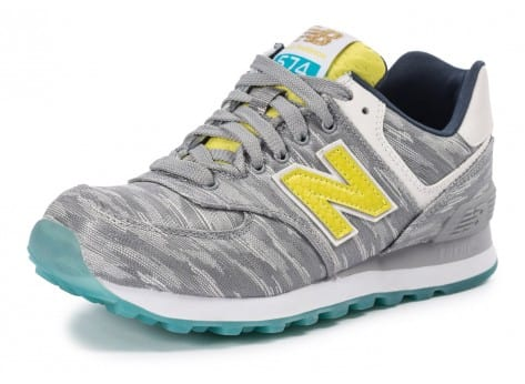 Chaussures New Balance WL574 SIA Summer Waves vue avant
