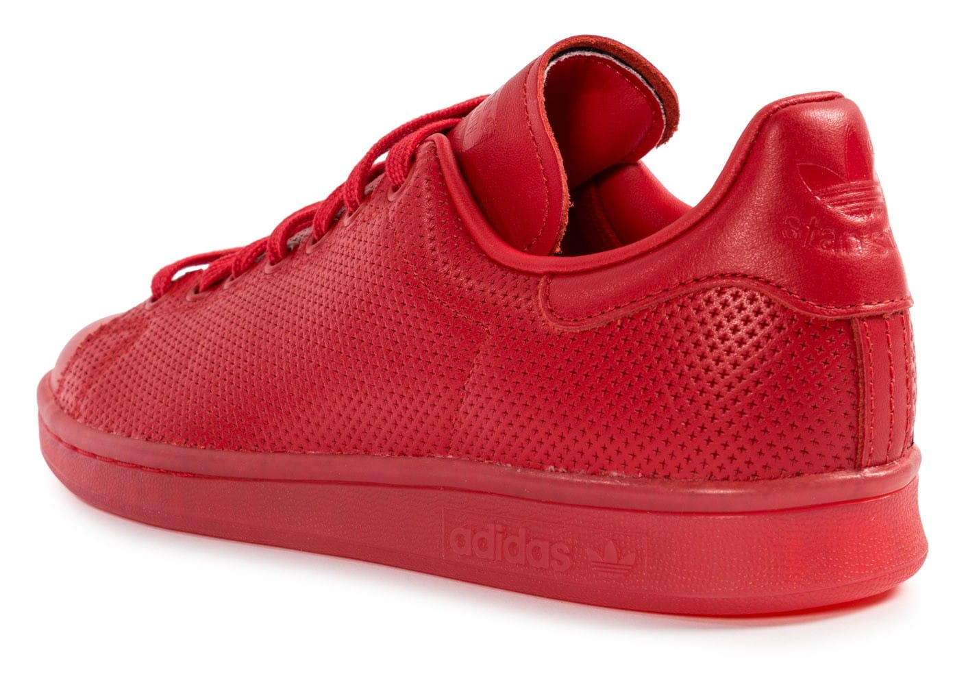 Stan Smith Cuir Rouge