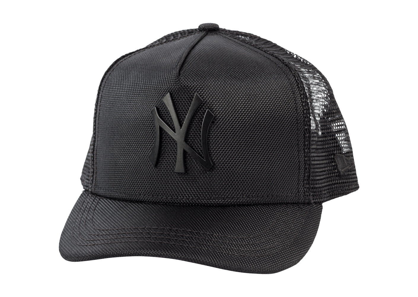 new era casquette trucker ny femme noire casquettes chausport. Black Bedroom Furniture Sets. Home Design Ideas