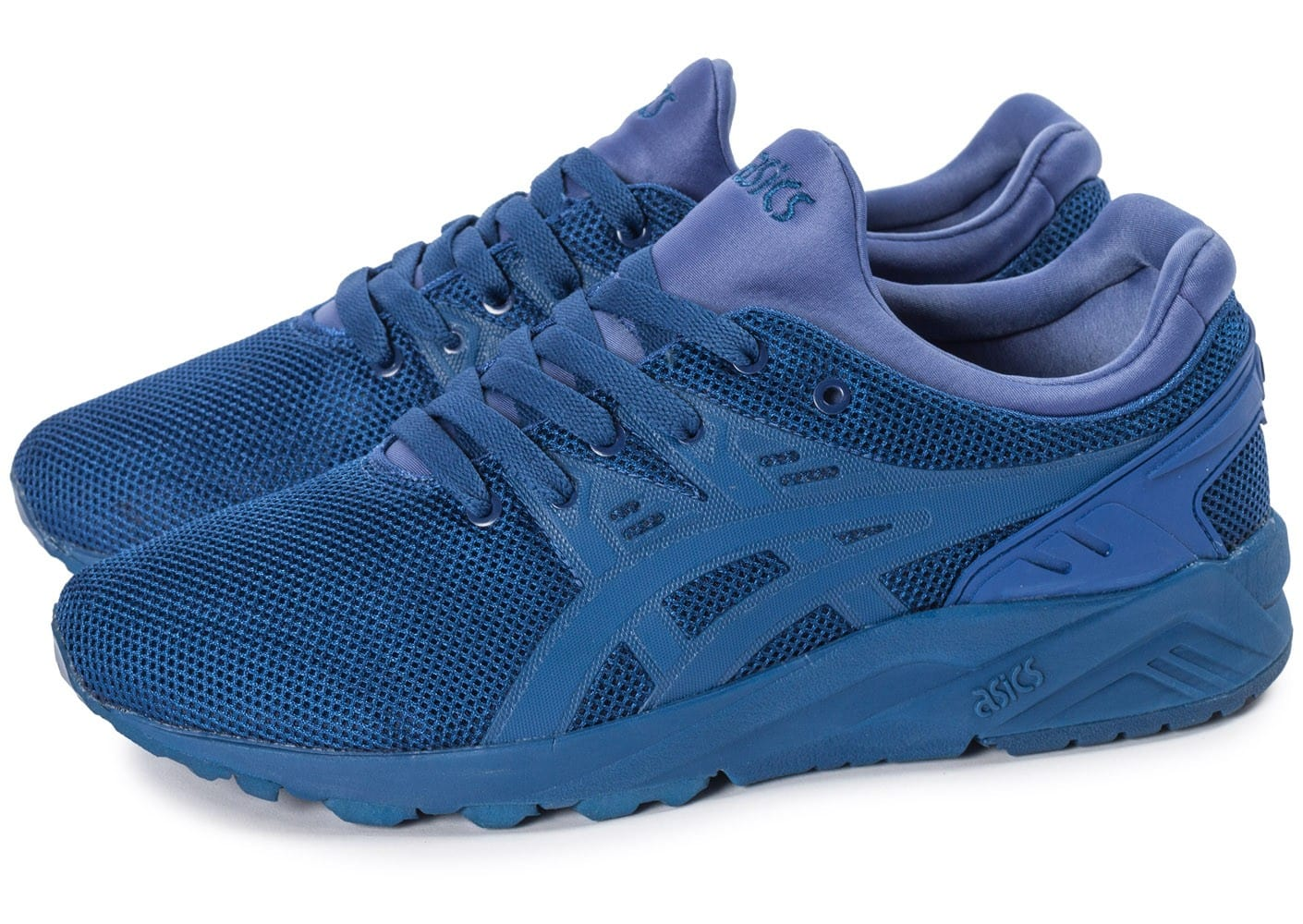 asics gel kayano trainer evo bleu chaussures homme chausport. Black Bedroom Furniture Sets. Home Design Ideas