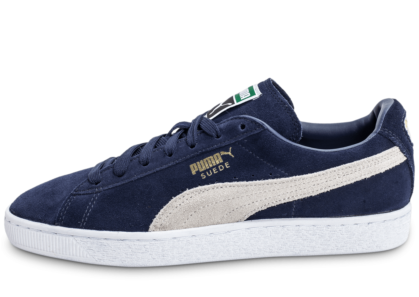 puma suede classic bleu marine chaussures homme chausport. Black Bedroom Furniture Sets. Home Design Ideas