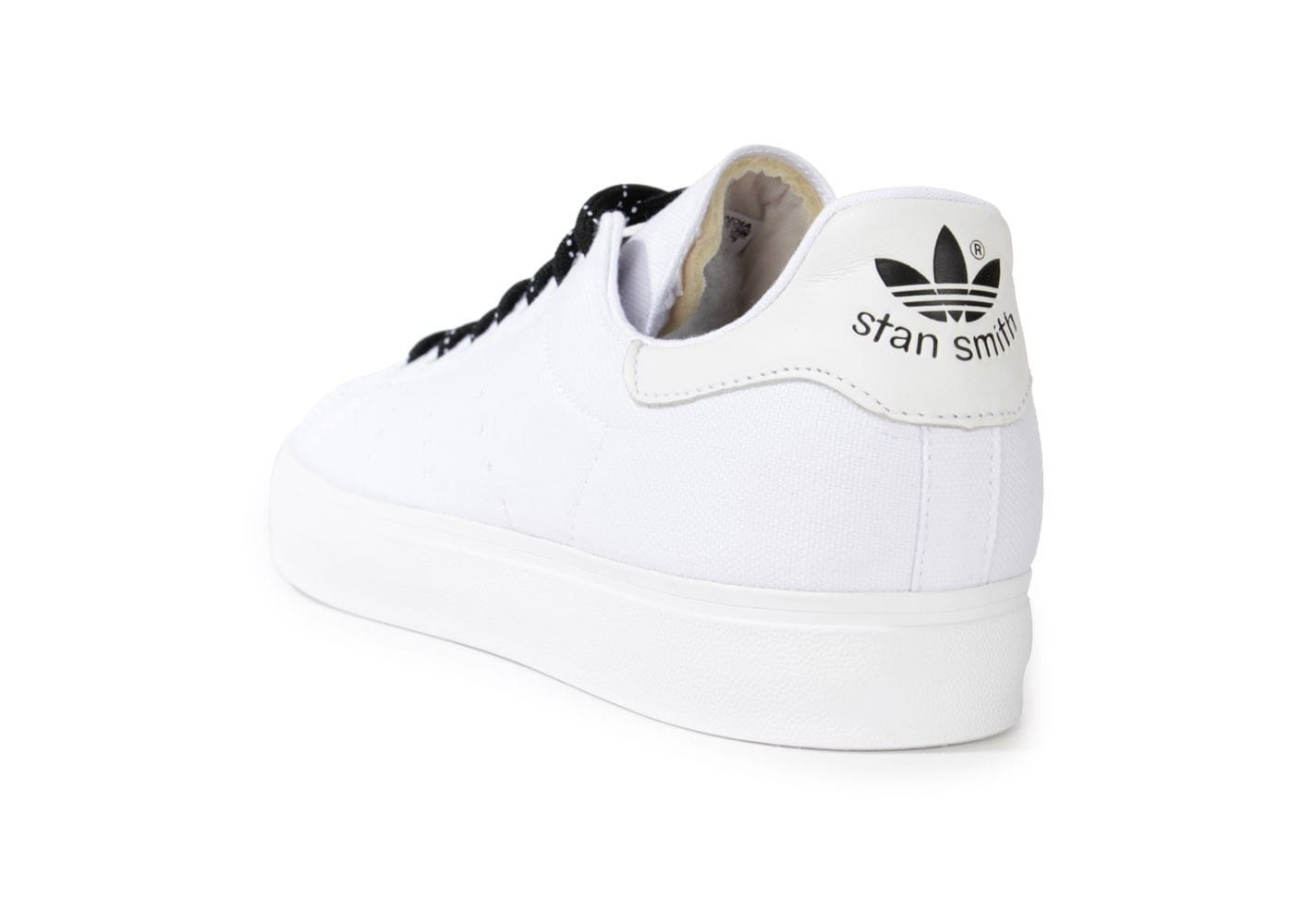 adidas stan smith toile blanche chaussures homme chausport. Black Bedroom Furniture Sets. Home Design Ideas