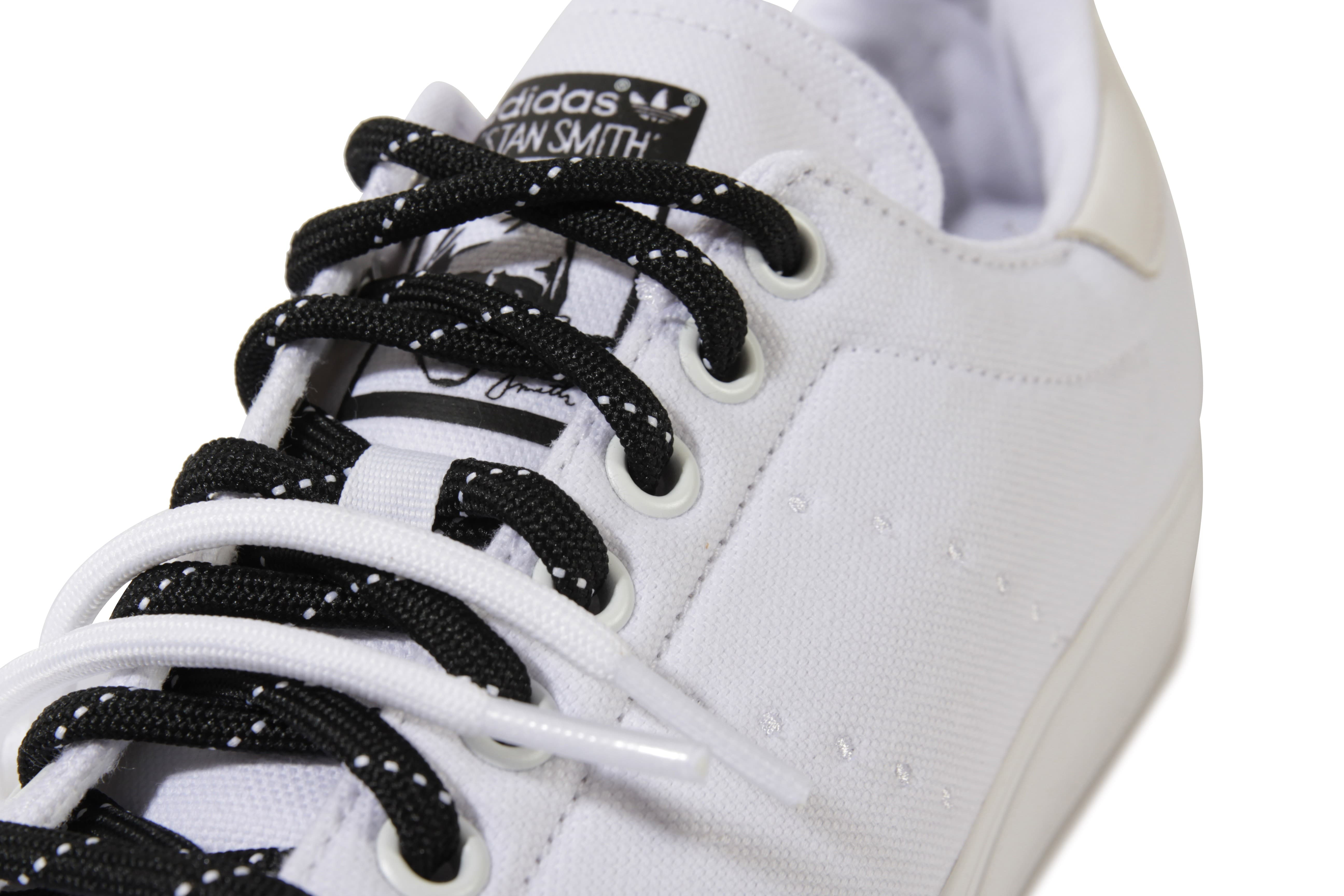 adidas stan smith toile blanche chaussures baskets homme. Black Bedroom Furniture Sets. Home Design Ideas