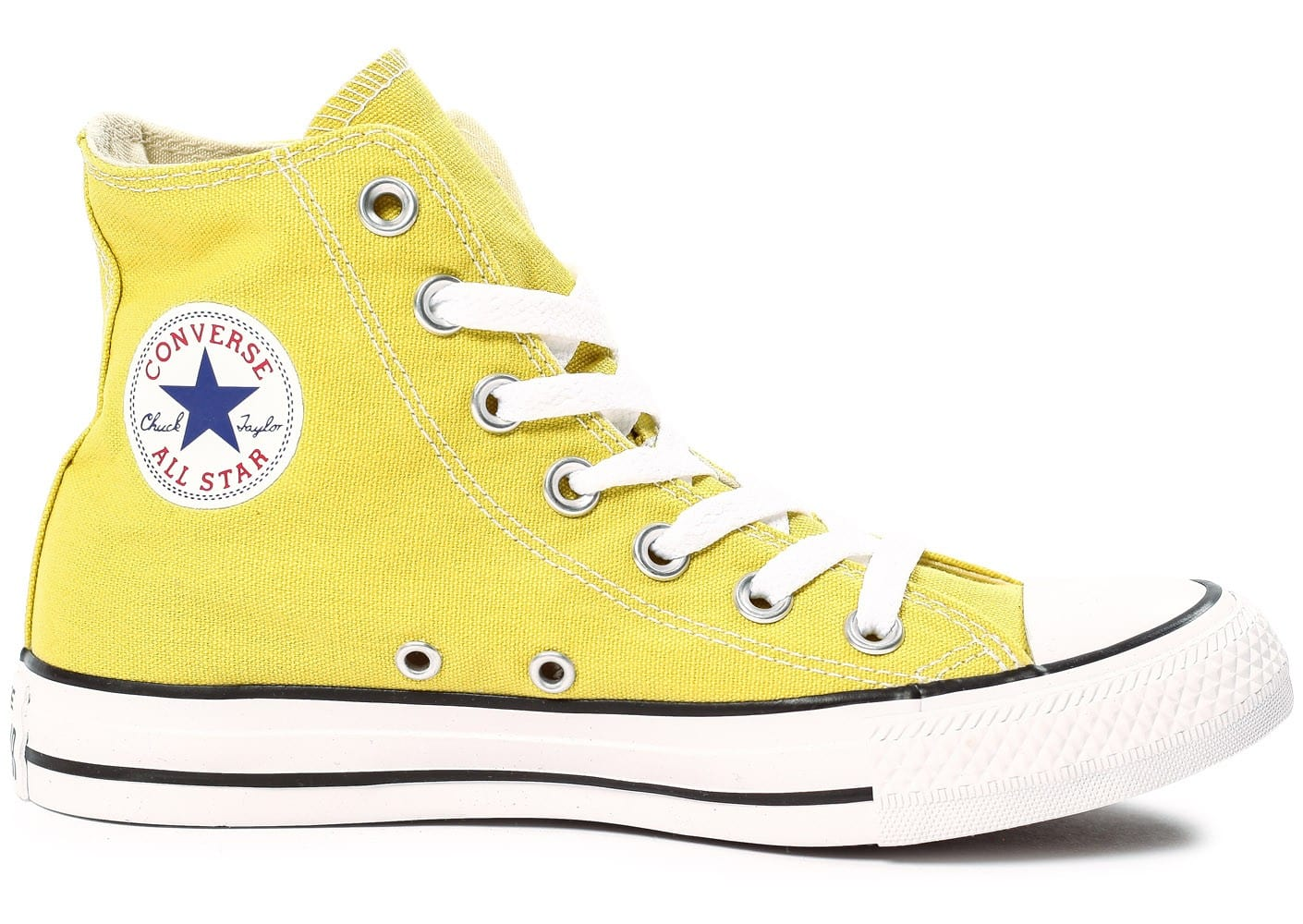 converse femmes all star jaune