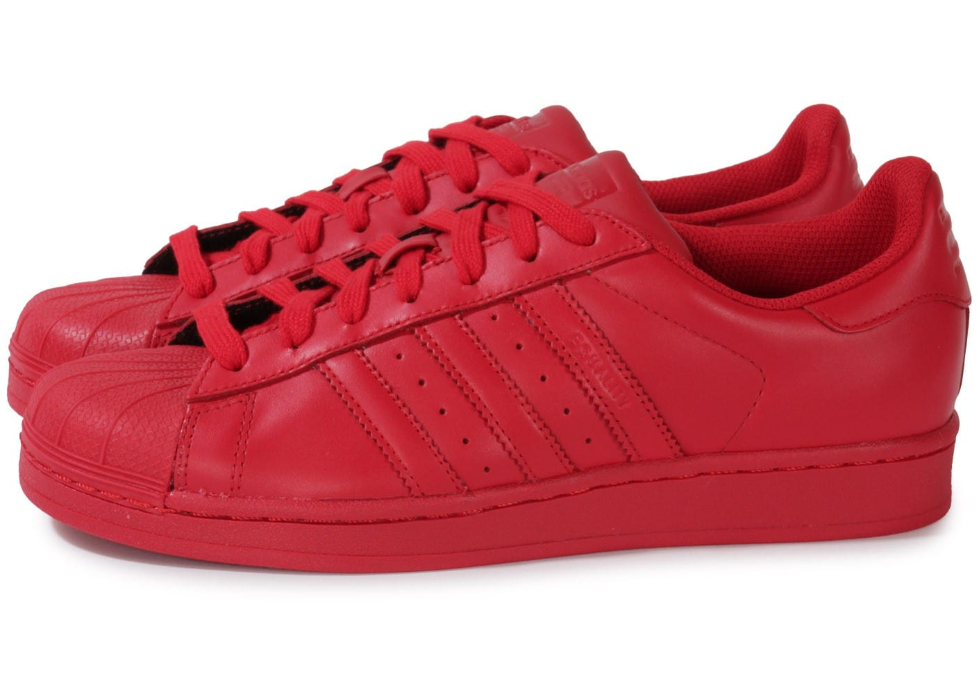adidas superstar supercolor rouge chaussures homme chausport. Black Bedroom Furniture Sets. Home Design Ideas