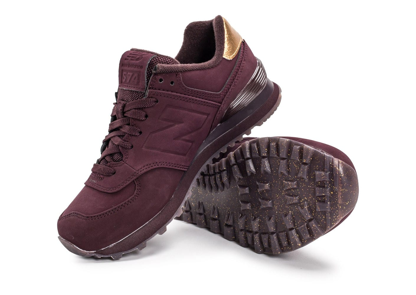 New Balance Bordeaux Et Or