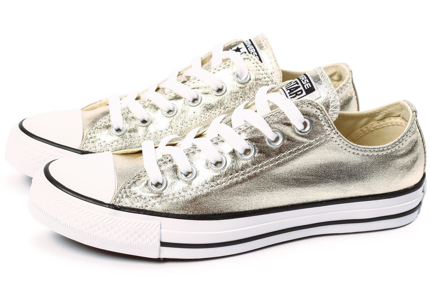 converse all star doré