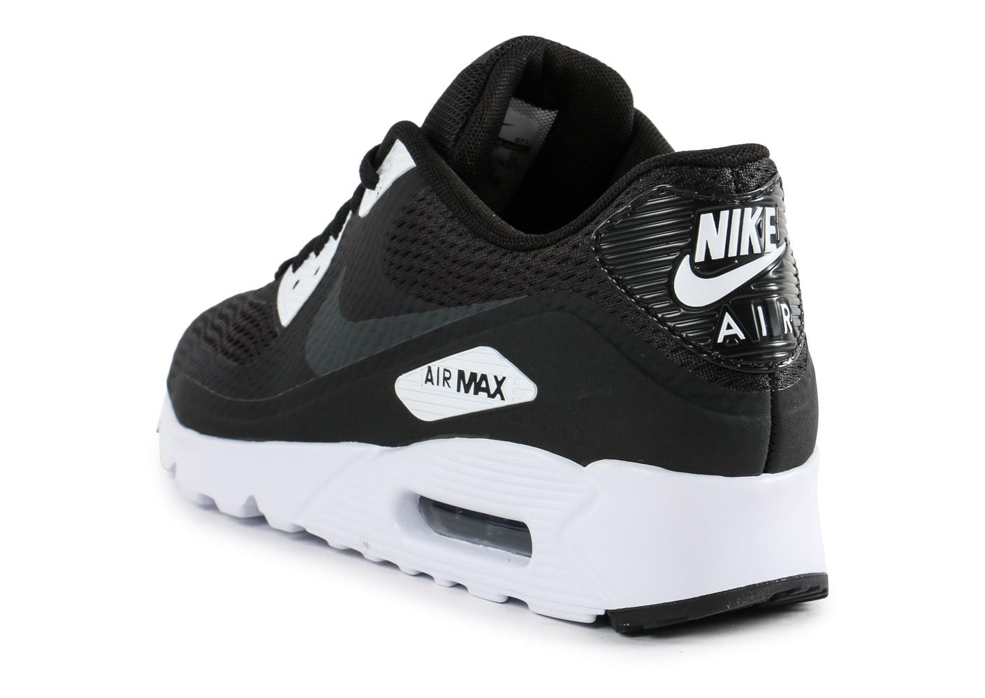 nike air max 90 ultra essential noire et blanche chaussures homme chausport. Black Bedroom Furniture Sets. Home Design Ideas