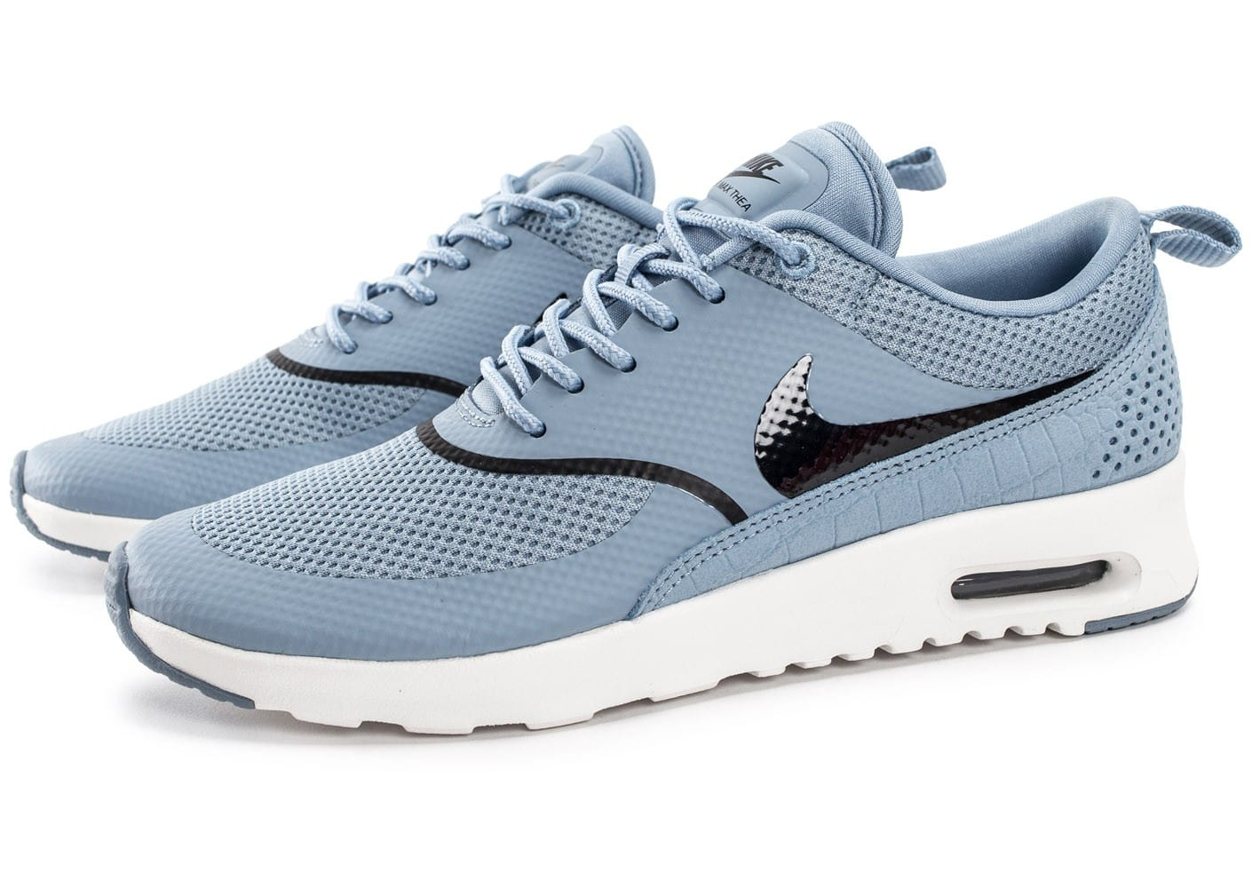 nike air max thea bleue chaussures black friday chausport. Black Bedroom Furniture Sets. Home Design Ideas