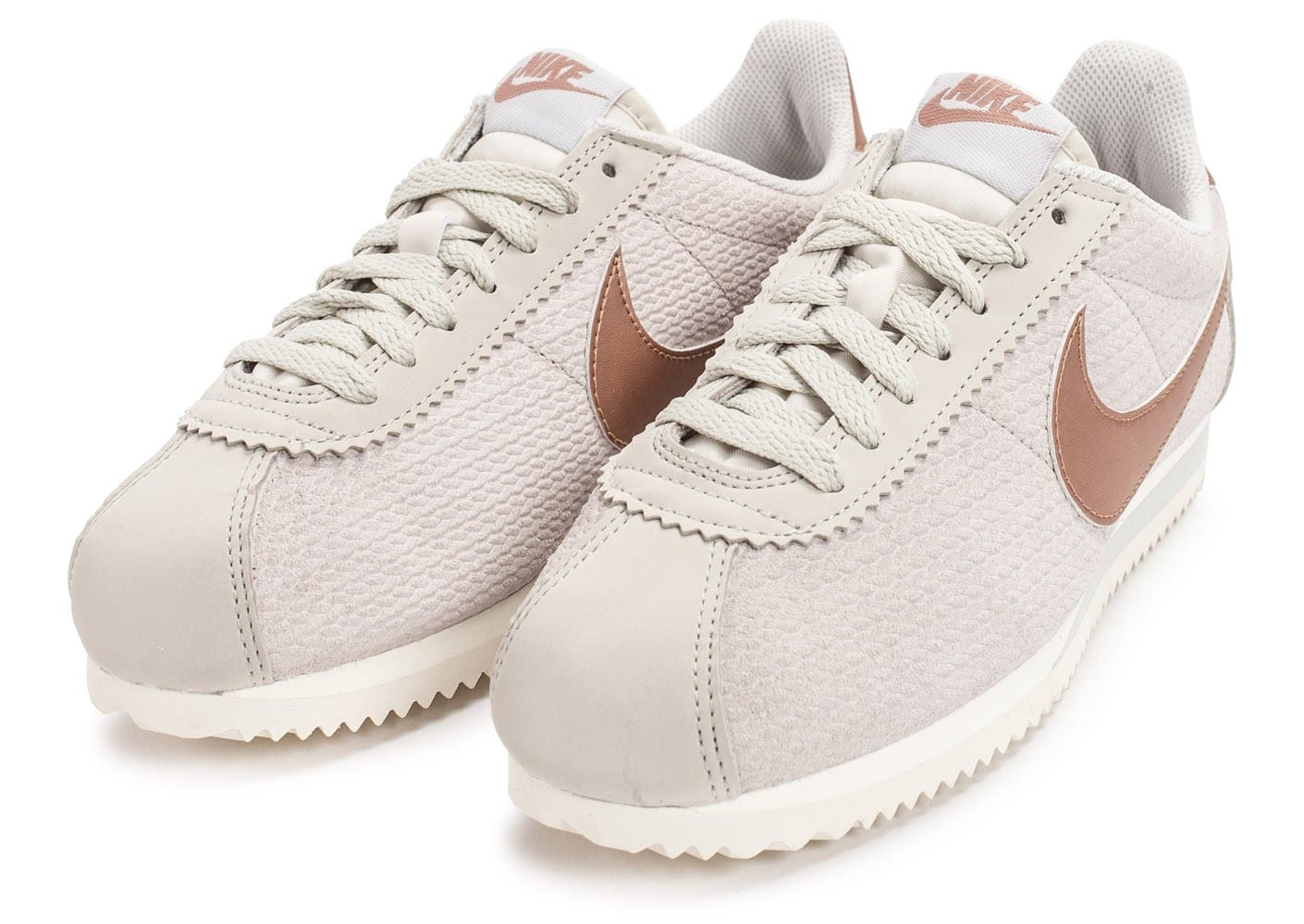nike cortez femme beige. Black Bedroom Furniture Sets. Home Design Ideas
