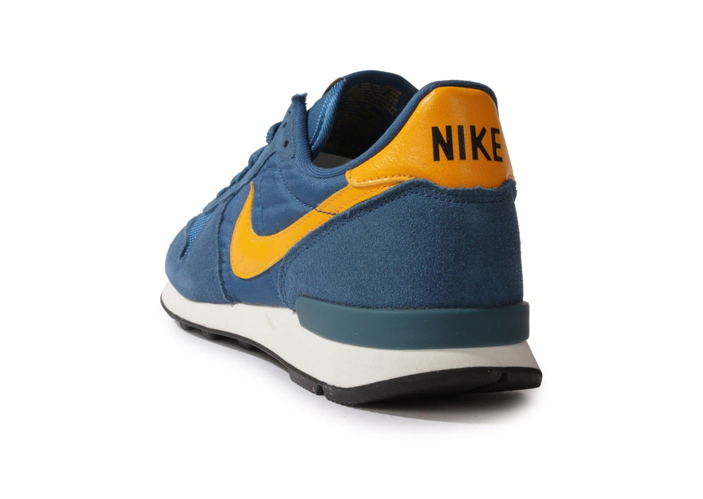 nike internationalist leather bleue chaussures homme chausport. Black Bedroom Furniture Sets. Home Design Ideas