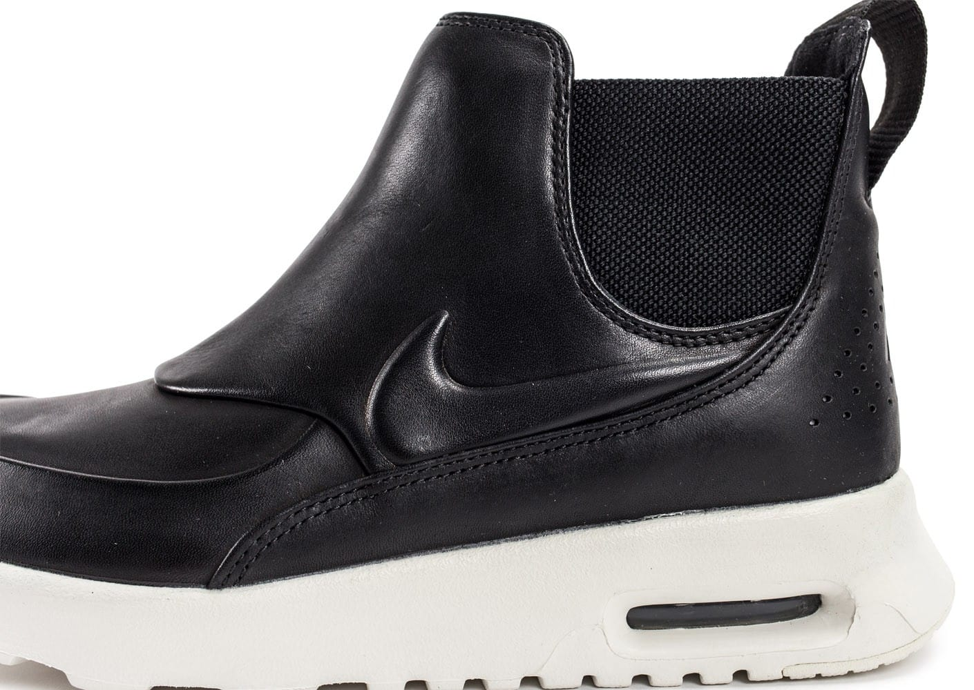 cheap for discount 98039 54334 Chaussures Nike Air Max Thea Mid noire vue dessus .