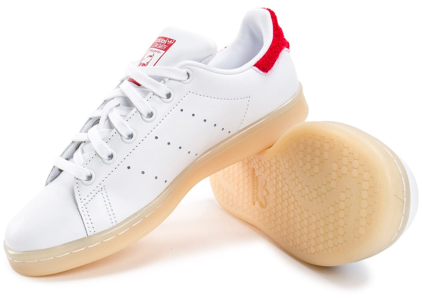 adidas stan smith wool blanche et rouge chaussures. Black Bedroom Furniture Sets. Home Design Ideas