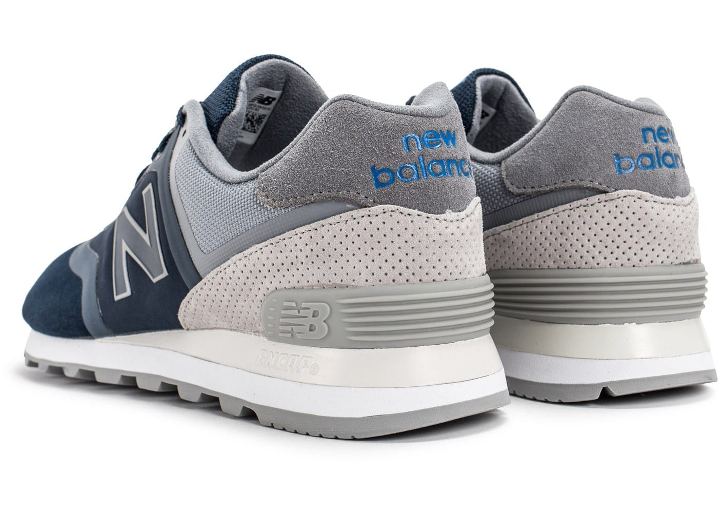 soldes new balance 574 re engineered suede bleu marine chaussures homme chausport. Black Bedroom Furniture Sets. Home Design Ideas