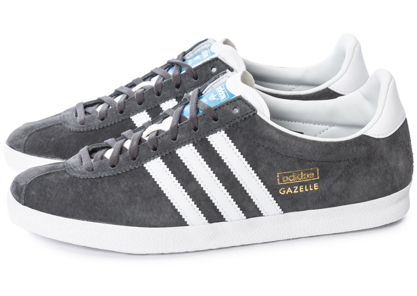 adidas gazelle og grise chaussures homme chausport. Black Bedroom Furniture Sets. Home Design Ideas